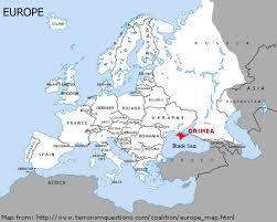 crimea europe map